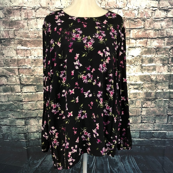 3a0d50c8f2d J. Jill Tops - J. Jill Women s Bo Ho Style Floral Tunic -
